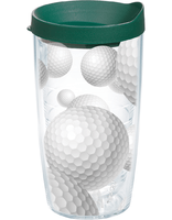 Tervis Golf Balls Wrap With Lid 16-Ounce Tumbler