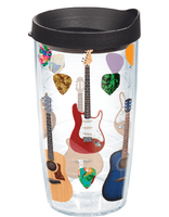 Tervis Multi Guitar Wrap With Lid 16-Ounce Tumbler