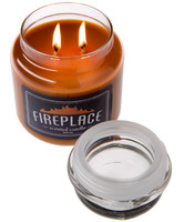 fireplace scented candle for dads who already have everything