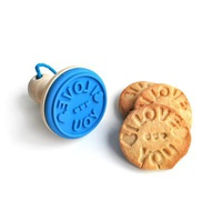 """""""I Love You"""" Cookie Stamp"""