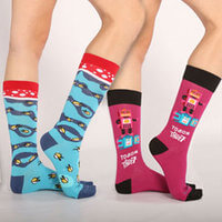 Wild & Crazy Socks Subscription For Her