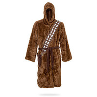 star wars chewbacca bath robe gift for sci fi fan thirteen year olds