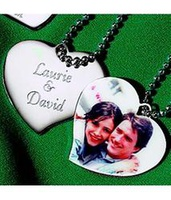 Personalized Photo Pendant Heart Necklace
