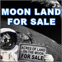 1 Acre Of Land On The Moon