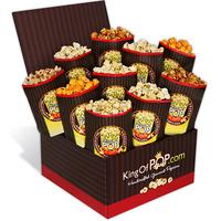 last minute gift idea gourmet popcorn sampler