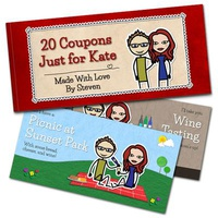 Personalized Romantic Coupon Book