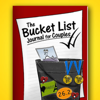 The Bucket List Journal For Couples - Planner..
