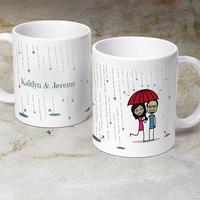 Its Raining Love  - Personalized 11 Oz. Premium..