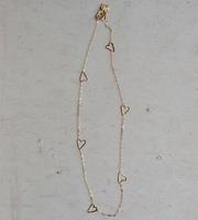 Tiny Heart Chain Necklace