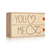 You & Me Box For A Bottle