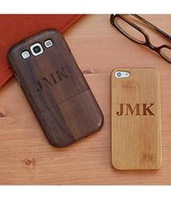 Personalized Wood Cell Phone Case