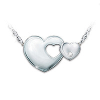 Always My Daughter Diamond Pendant With Engraving