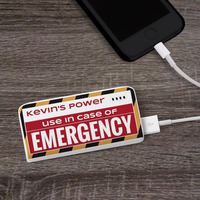 In Case Of Emergency - Personalized 5200 MAh..