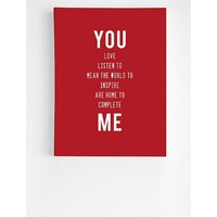 Personalized You + Me Wall Art