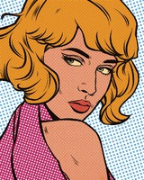 Comic Book Pop Art From Photos