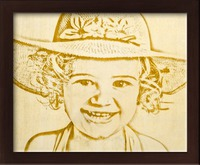 Photo Wood Engraving