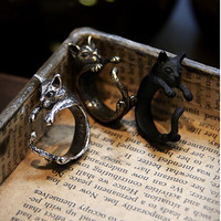 Wrapped Around Your Finger Cat Ring
