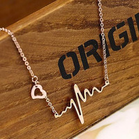 Can You Feel My Heartbeat? Necklace