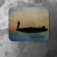 Fishing Pad - Personalized Premium Mouse Pad