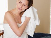 Aquis: Lisse Crepe Hair Towel
