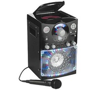 Singing Machine Disco Light Karaoke System