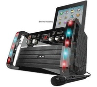 Akai Portable Karaoke System With IPad Dock &