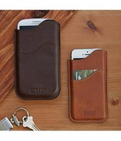 Personalized Leather Cell Phone Case