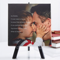 Personalized Tabletop Canvas Print - Photo..