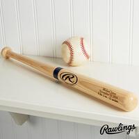 Personalized Wooden Baseball Bat - Engraved Mini