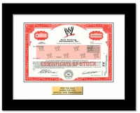 Own A Share Of WWE