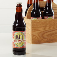 Personalized Beer Bottle Labels - His Brew