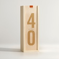 Classic Birthday Digits Birthday Wine Box