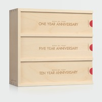 Classic Trio Anniversary Wine Box
