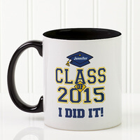 Custom Graduation Ceramic Coffee Mug - Cheers To..