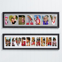 personalized name photo collage gift for grandmothers
