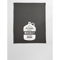 Personalized Whiskey Quote Towel