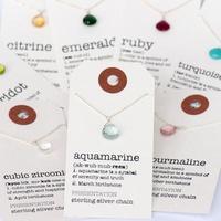 Britta Ambauen Gemstone Definition Necklace