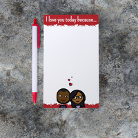 Daily Love Notes - Personalized Note Pad