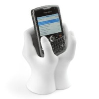 hands cell phone holder
