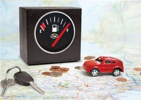 gas gauge coin bank for nieces who are about to need gas money
