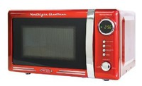 retro red microwave practical gift idea