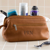 monogrammed toiletries bag for man