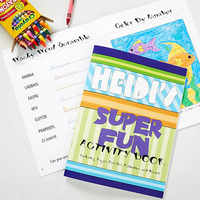 personalized coloring book stocking stuffer for kids