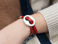 Trades Of The East: Buckle Wrap Bracelet
