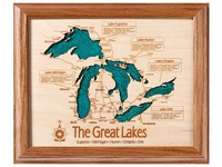 Lake Art: Wall Art (Single Layer) -  8 X 10
