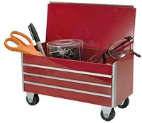 desktop miniature toolbox red valentines day gift for him
