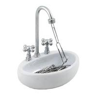 Kitchen Sink Paper Clip Holder
