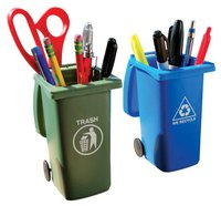 recycling can pencil cup funny stocking stuffer idea