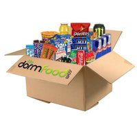 exam care package mega snack pack valentines day gift for college kids