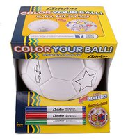 color your own soccer ball gift for nephew